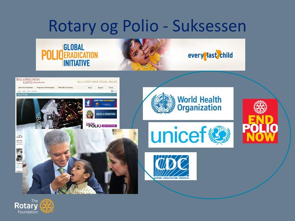 Rotary og Polio - Suksessen