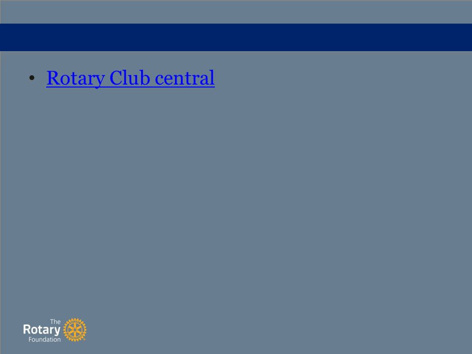 Rotary Club central