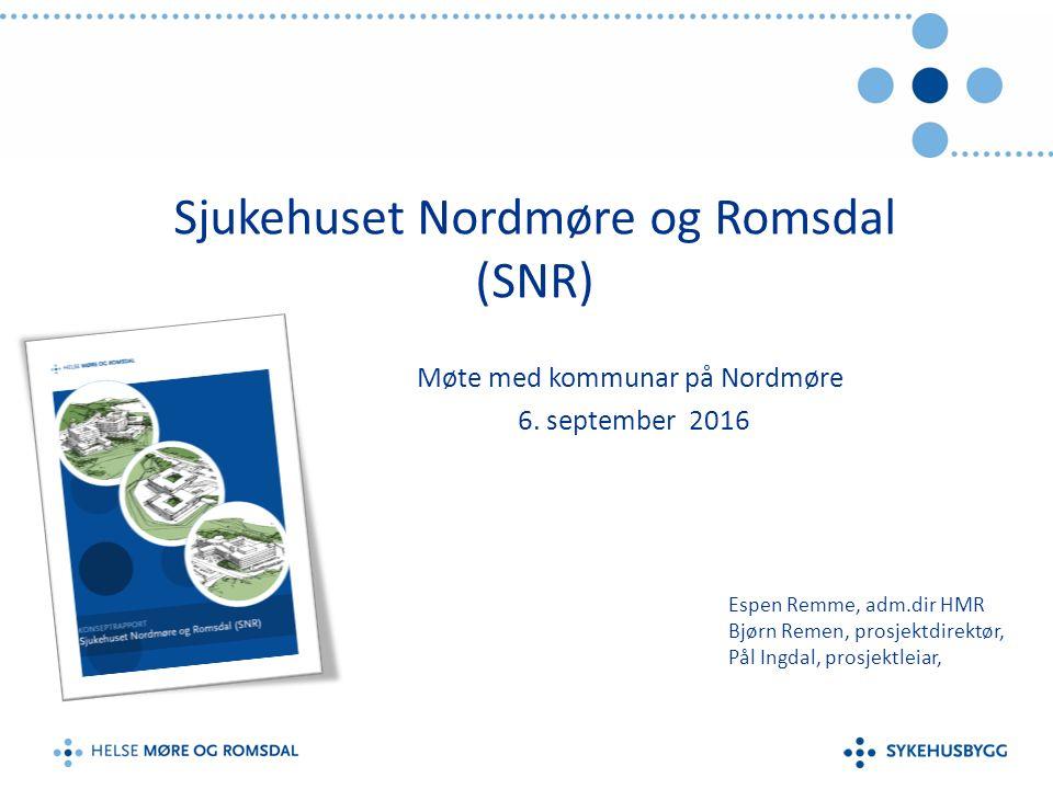 Arealbehov SNR 05.09.16