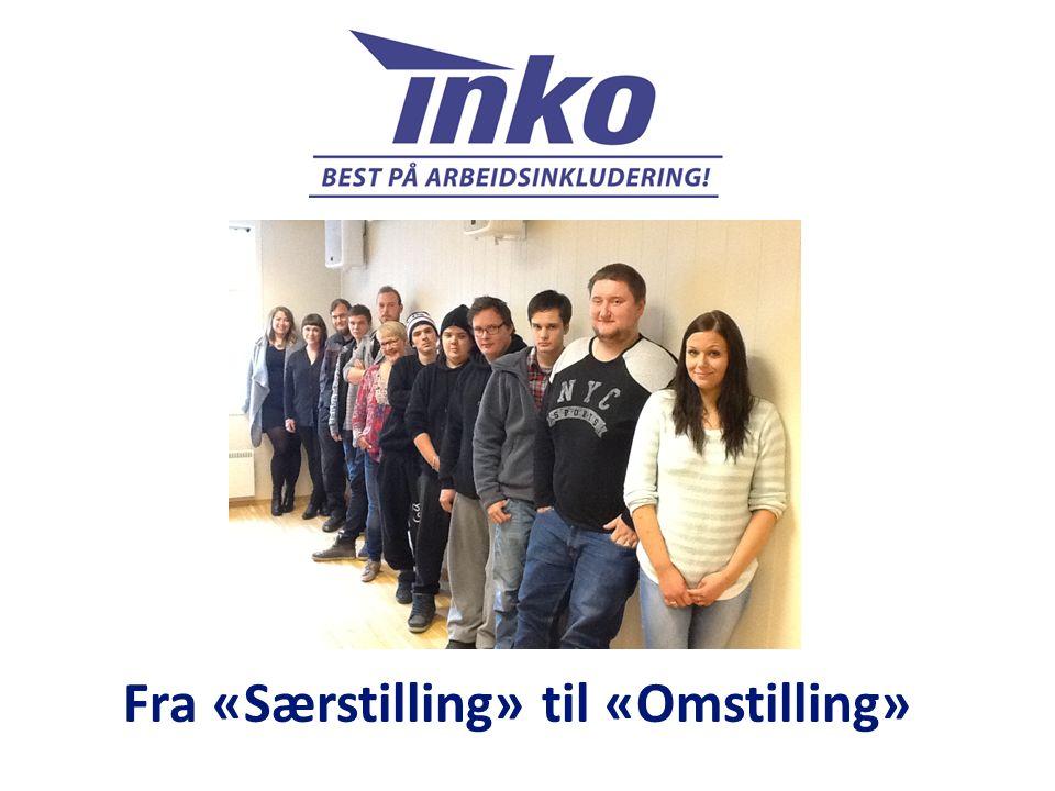 Alle tiltak inkludert 75 VTA-plasser fordelt på 6 lokasjoner i Sør- og Midt-Troms med hovedkontor i Harstad Likeverd og relasjonsorientering Fra subkultur til fellesskapskultur Fra «kraftløs» bruker til fremtidig jobbressurs Fra produksjon til opplæring og prekvalifisering Fra klasseromsundervisning til individuell og digitalisert læring