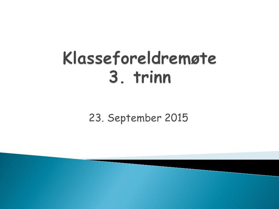 23. September 2015