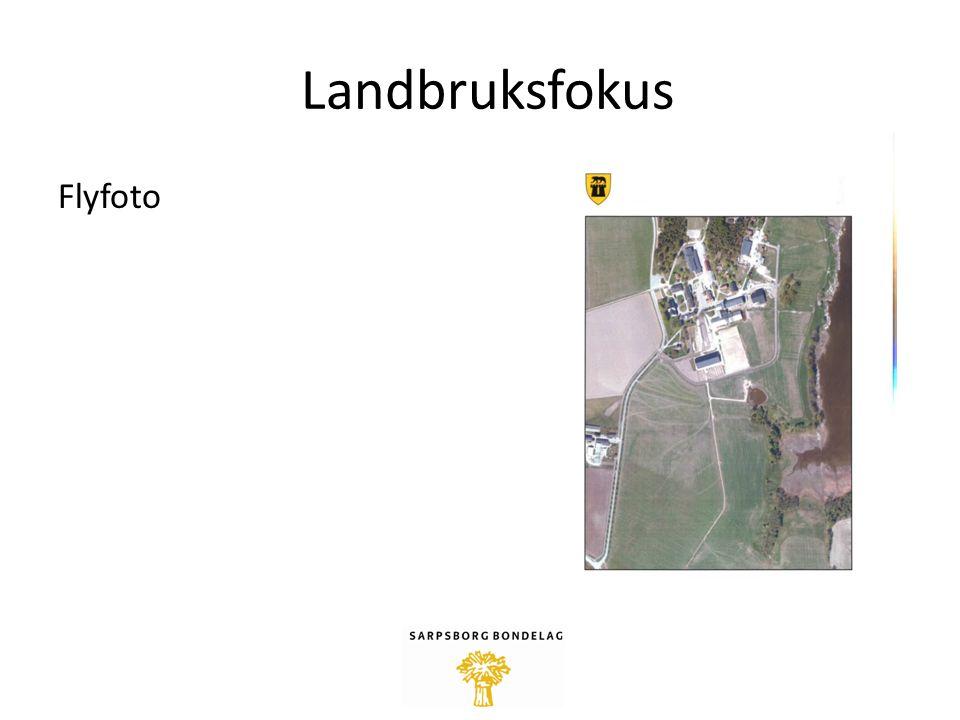 Landbruksfokus Flyfoto