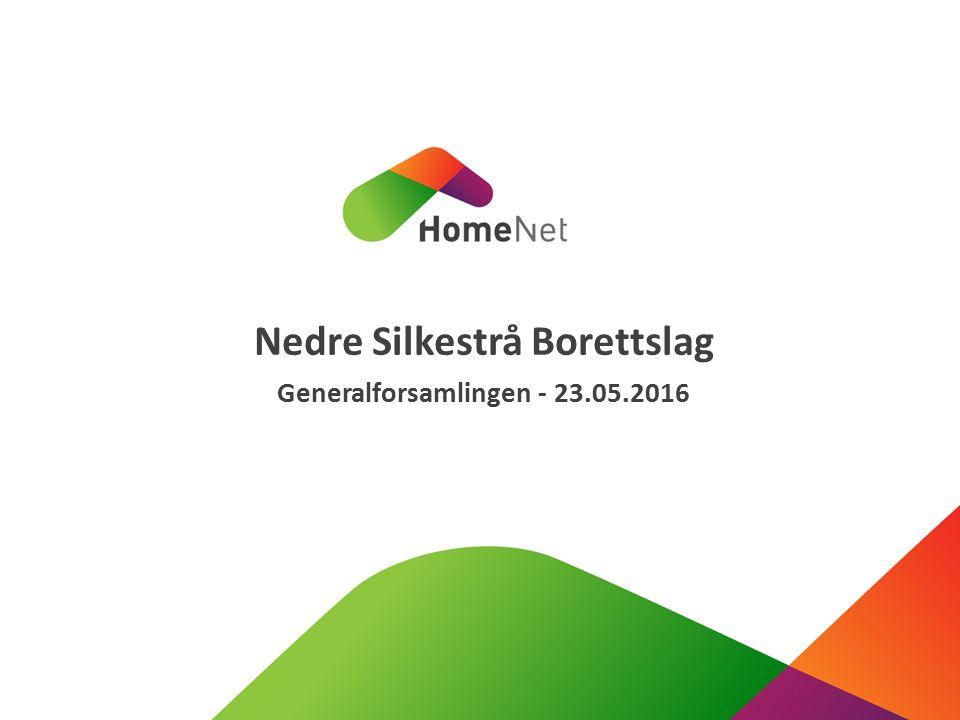 Nedre Silkestrå Borettslag Generalforsamlingen - 23.05.2016