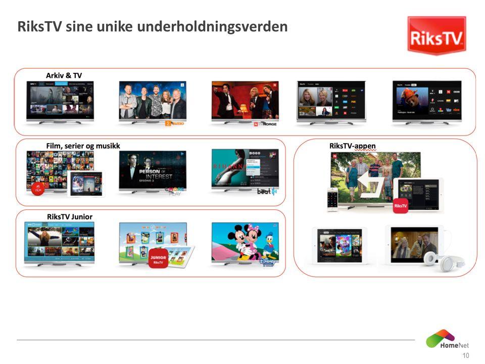 RiksTV sine unike underholdningsverden 10