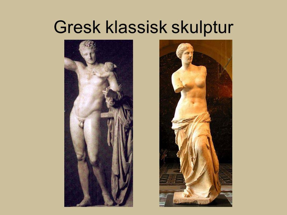 Gresk klassisk skulptur