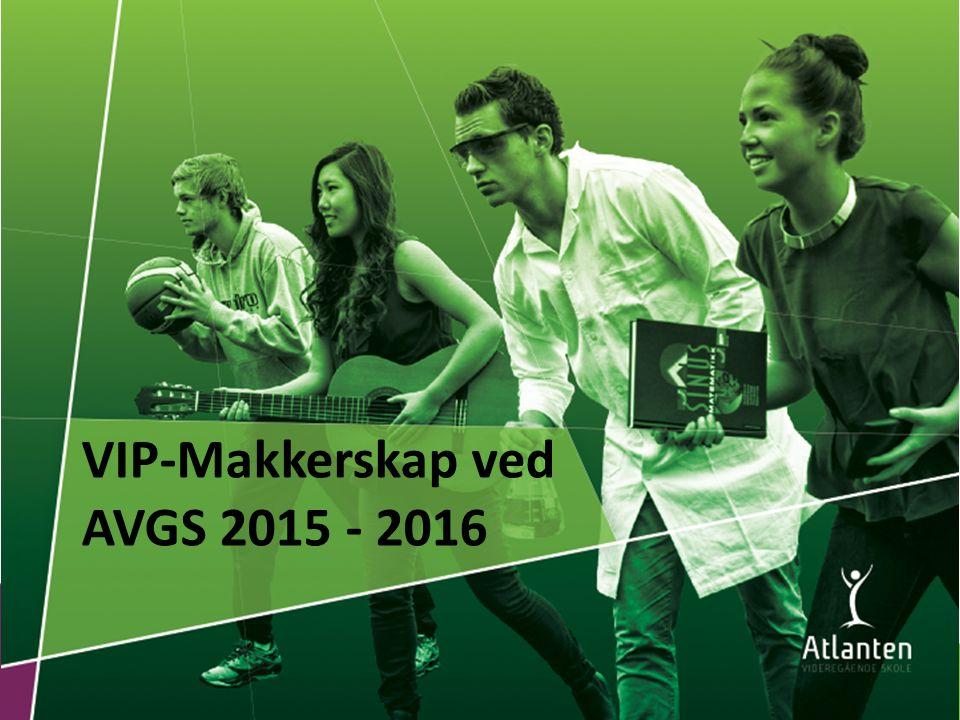 Erfaringer i Elevtjenesten Ungdata 2014 - Videregående skole i Kristiansund Forskning - Sintef/NTNU 2014 HVORFOR VIP-MAKKERSKAP?
