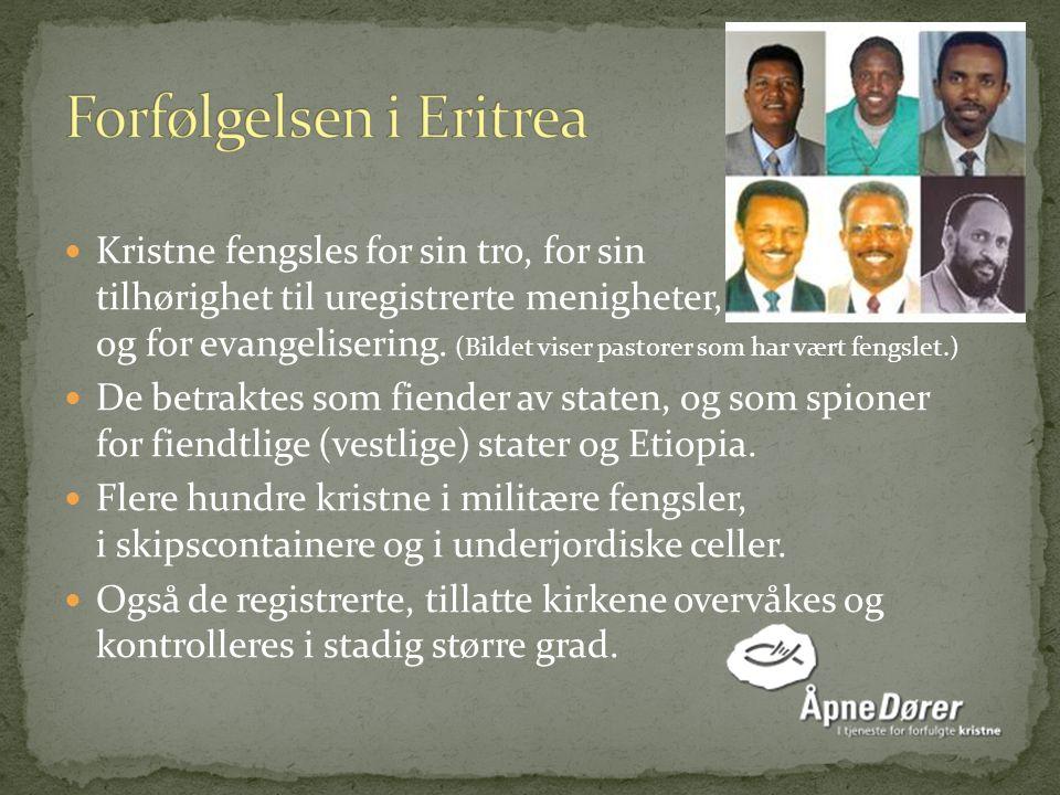 Ung, kristen eritreer Gospelsangeren Helen Berhane.