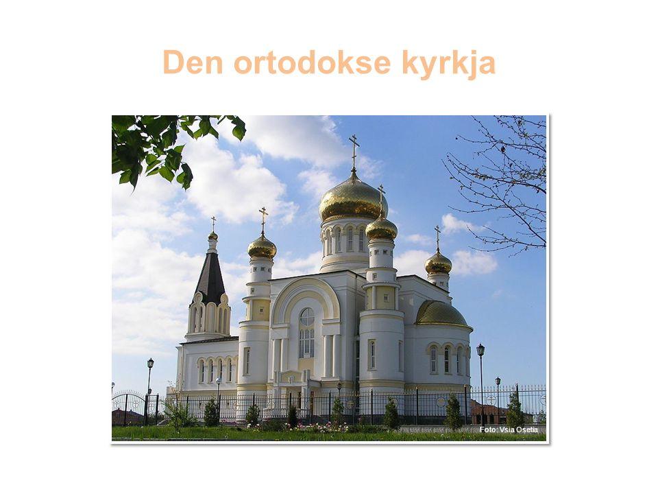 Den ortodokse kyrkja Den ortodokse kyrkja er det nest største kyrkjesamfunnet i verda.