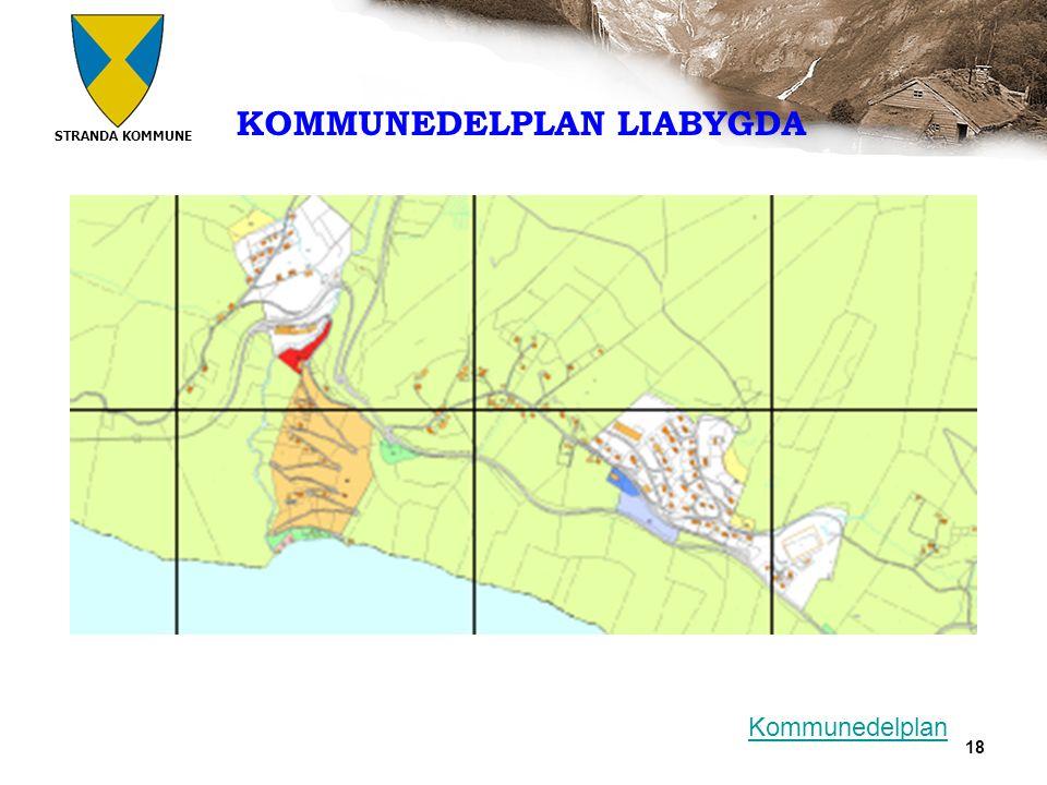 STRANDA KOMMUNE 18 KOMMUNEDELPLAN LIABYGDA Kommunedelplan