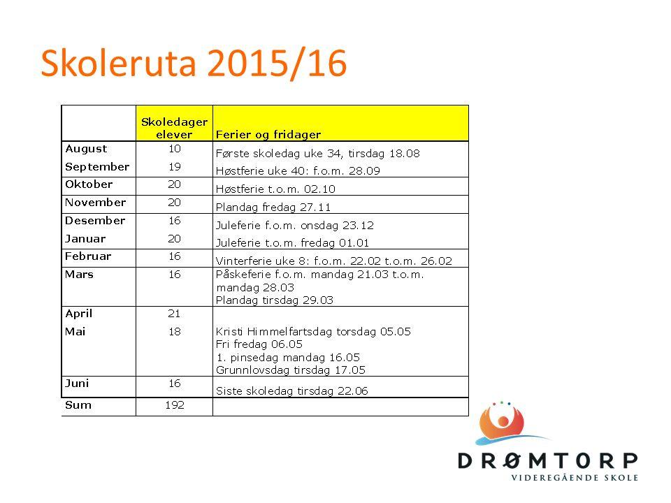 Skoleruta 2015/16