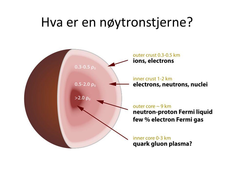 Hva er en nøytronstjerne?