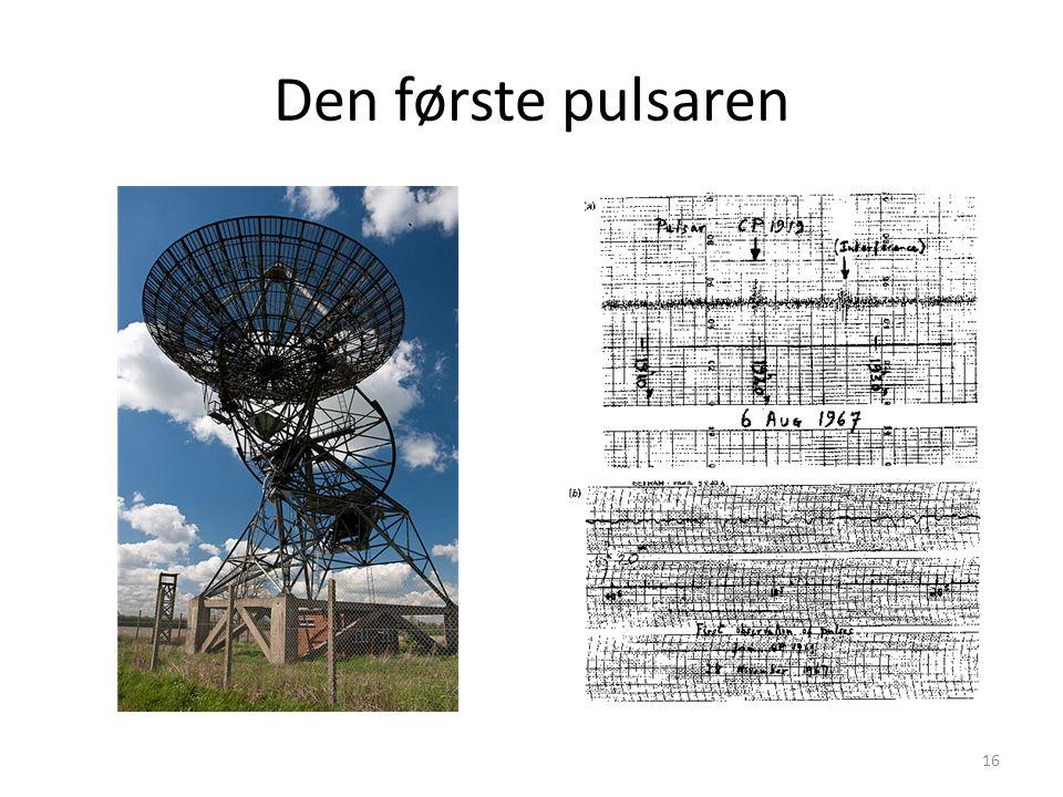 Den første pulsaren 16