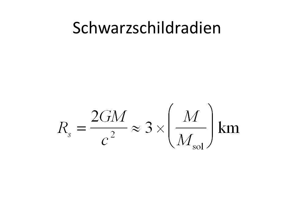 Schwarzschildradien