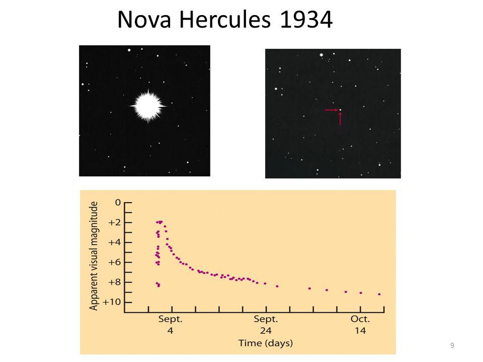AST1010 - Stjernenes sluttstadier9 Nova Hercules 1934
