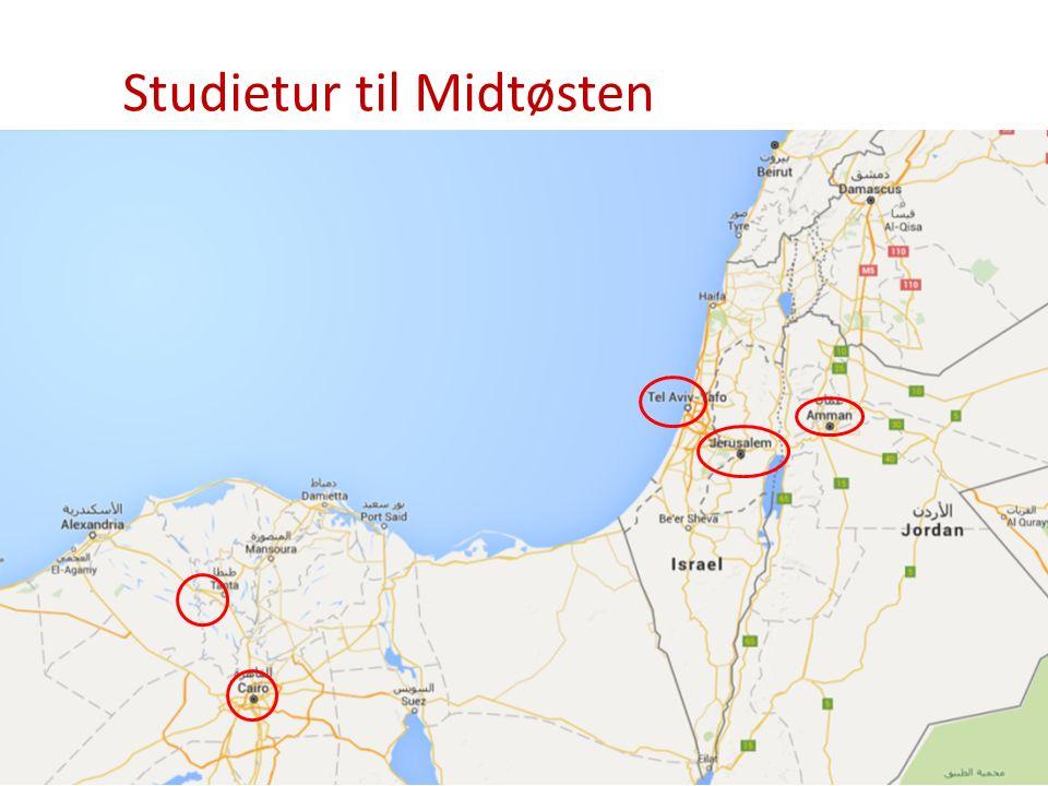 Studietur til Midtøsten