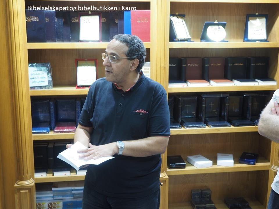 Bibelselskapet og bibelbutikken i Kairo