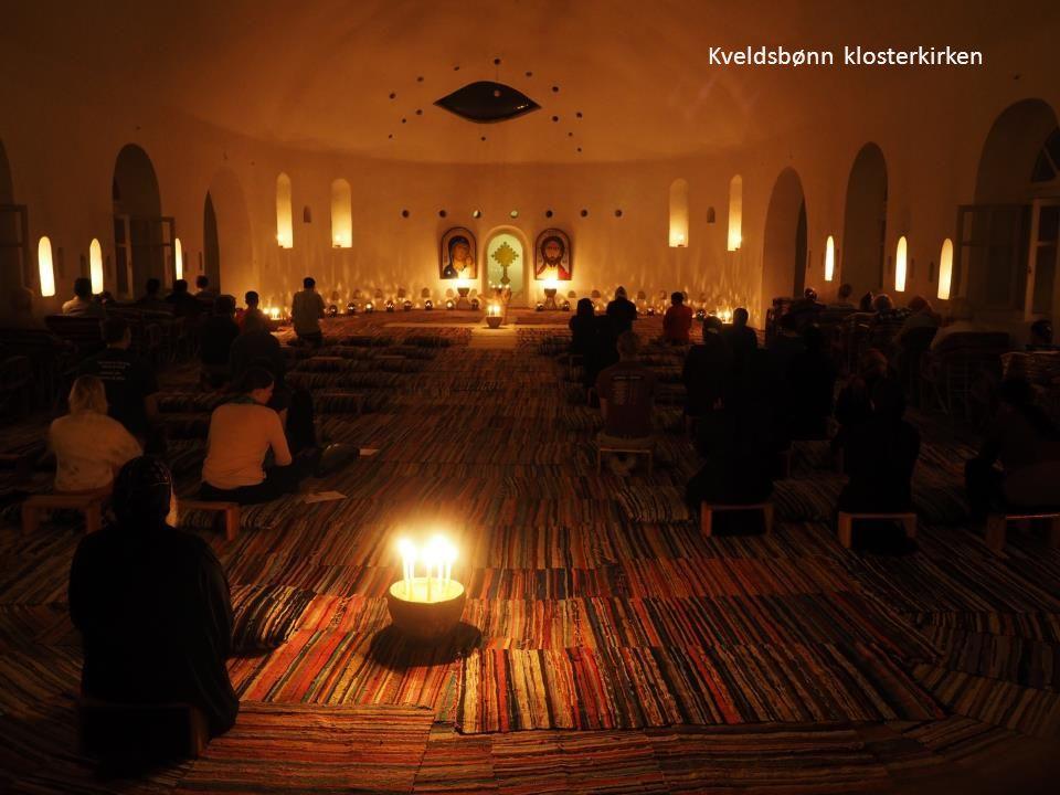 Kveldsbønn klosterkirken