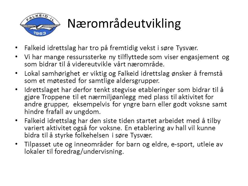 Nærområdeutvikling Falkeid idrettslag har tro på fremtidig vekst i søre Tysvær.