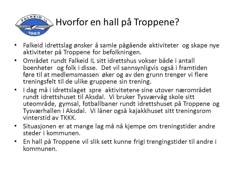 Folkehelsekonsekvenser av Falkeid IL sin flerbrukshall Hva betyr en flerbrukshall for søre Tysvær.