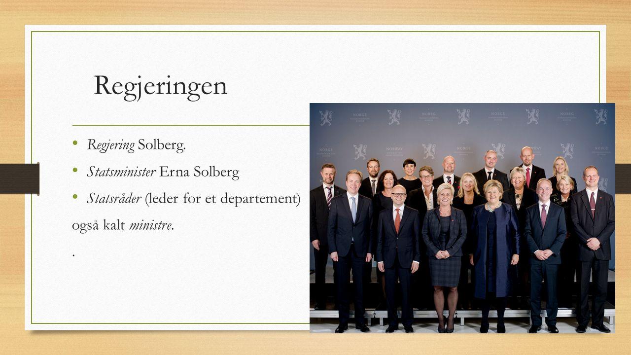 Regjeringen Regjering Solberg.
