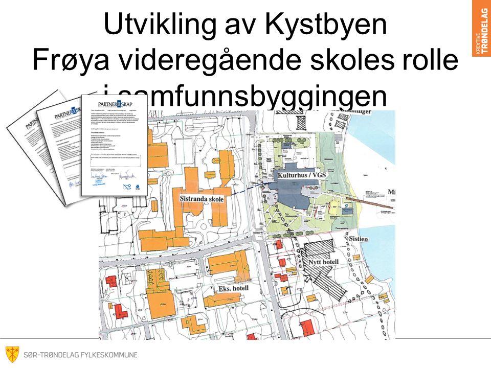 Utvikling av Kystbyen Frøya videregående skoles rolle i samfunnsbyggingen