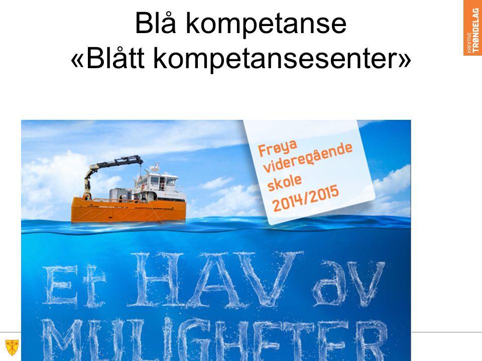 Blå kompetanse «Blått kompetansesenter»