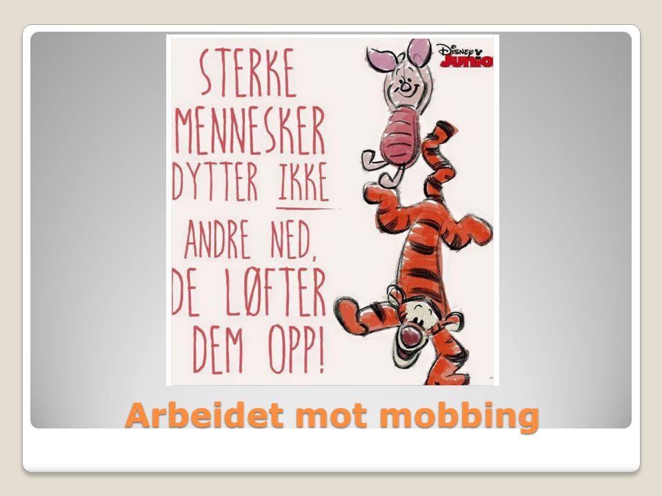 Arbeidet mot mobbing