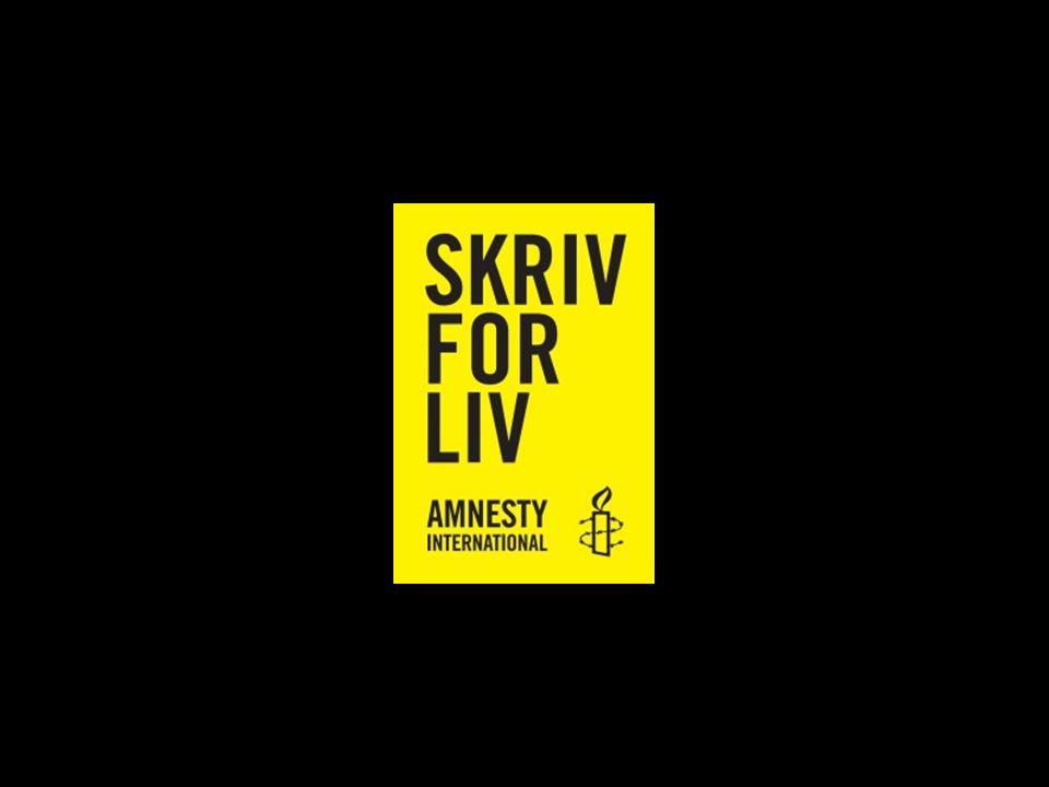 Amnesty International Verdens største menneskerettighetsorg.