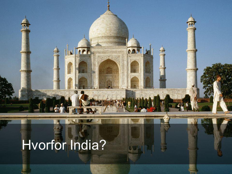 Hvorfor India?