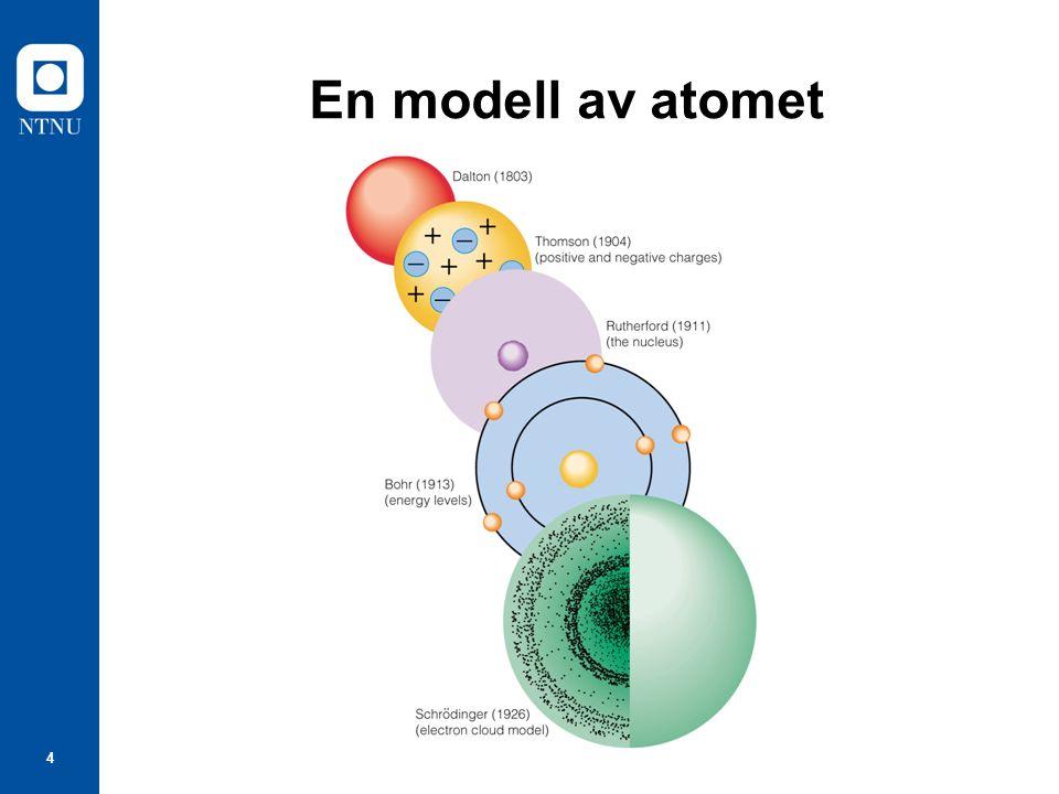 4 En modell av atomet