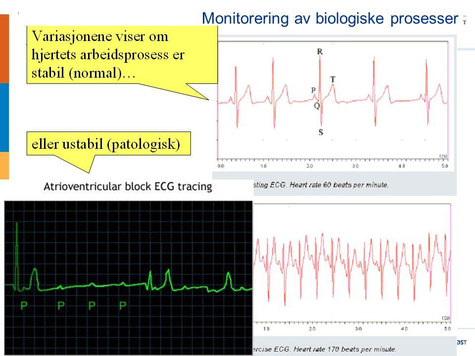 5 Monitorering av biologiske prosesser