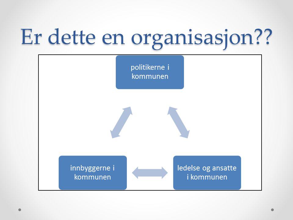 Er dette en organisasjon