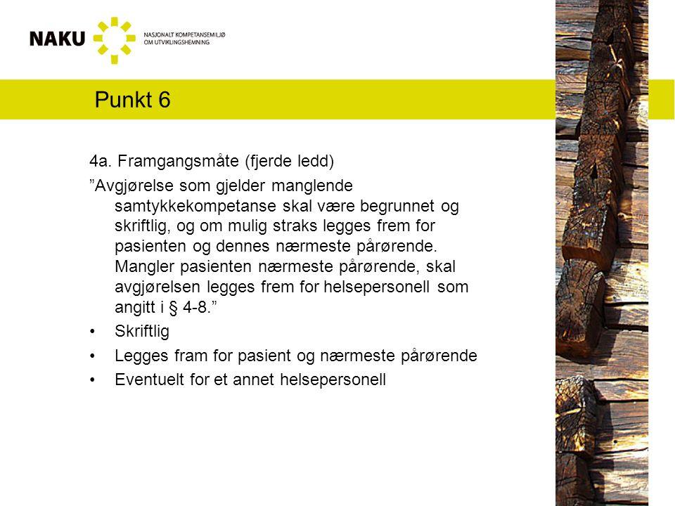 Punkt 6 4a.