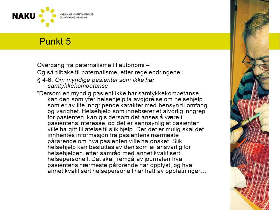 Punkt 5...