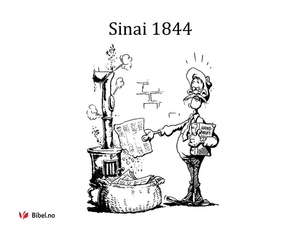 Sinai 1844