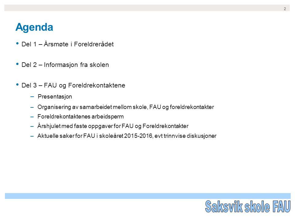 Velkommen til Årsmøte i Foreldrerådet – 7.