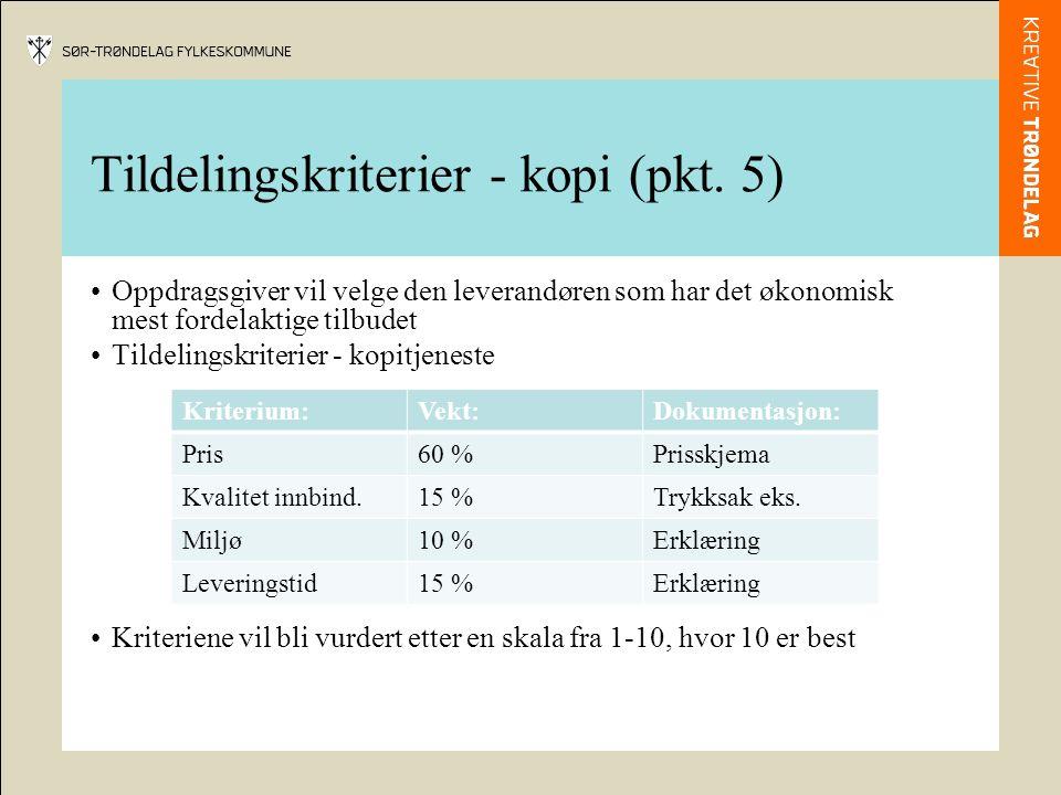 Tildelingskriterier - kopi (pkt.