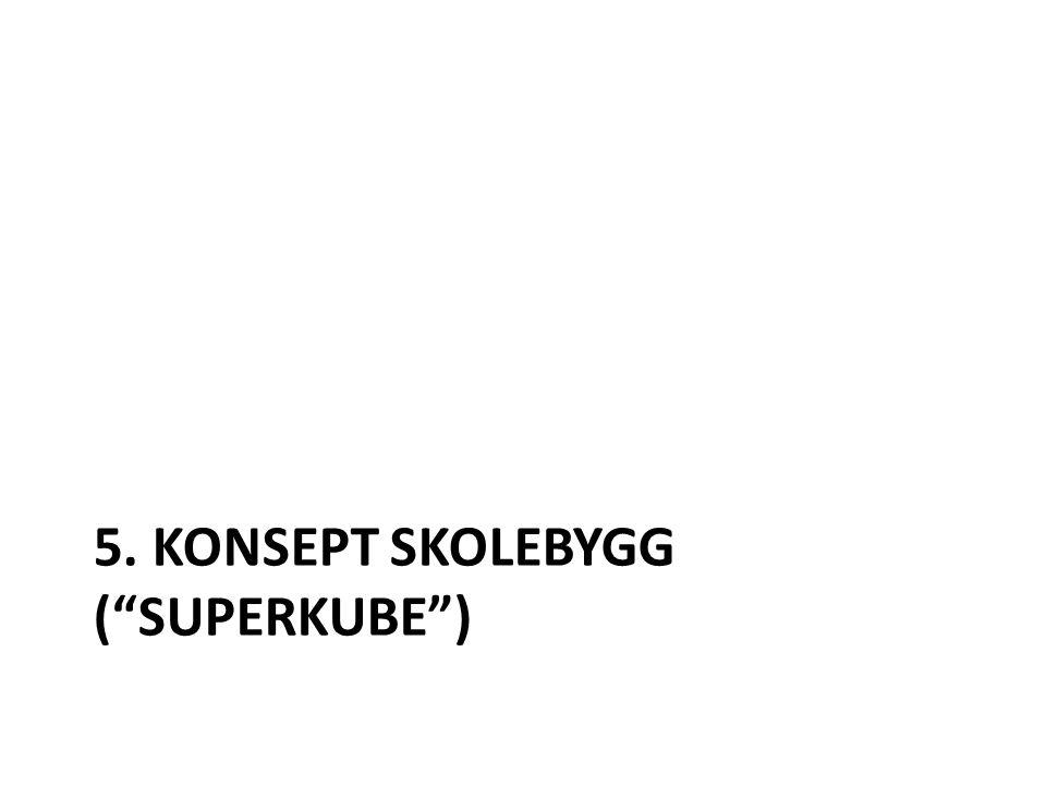 5. KONSEPT SKOLEBYGG ( SUPERKUBE )