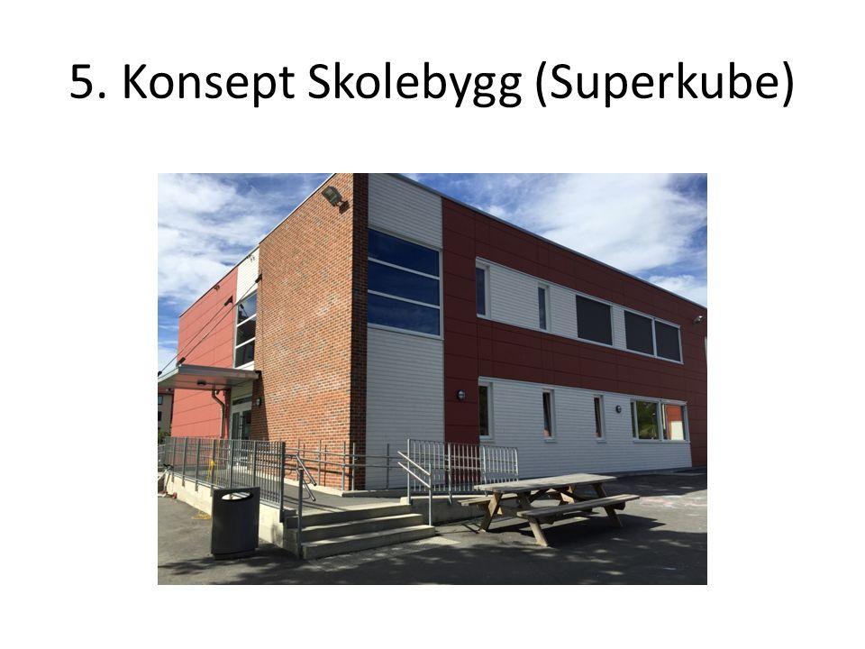 5. Konsept Skolebygg (Superkube)