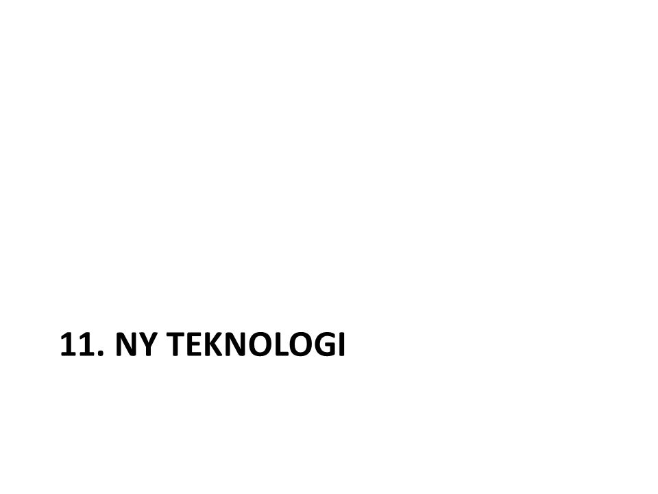 11. NY TEKNOLOGI