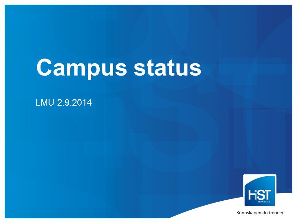 Campus status LMU 2.9.2014