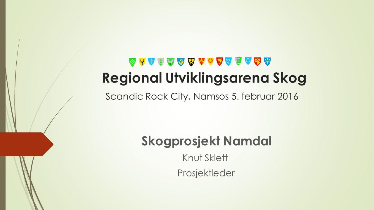 Regional Utviklingsarena Skog Scandic Rock City, Namsos 5.