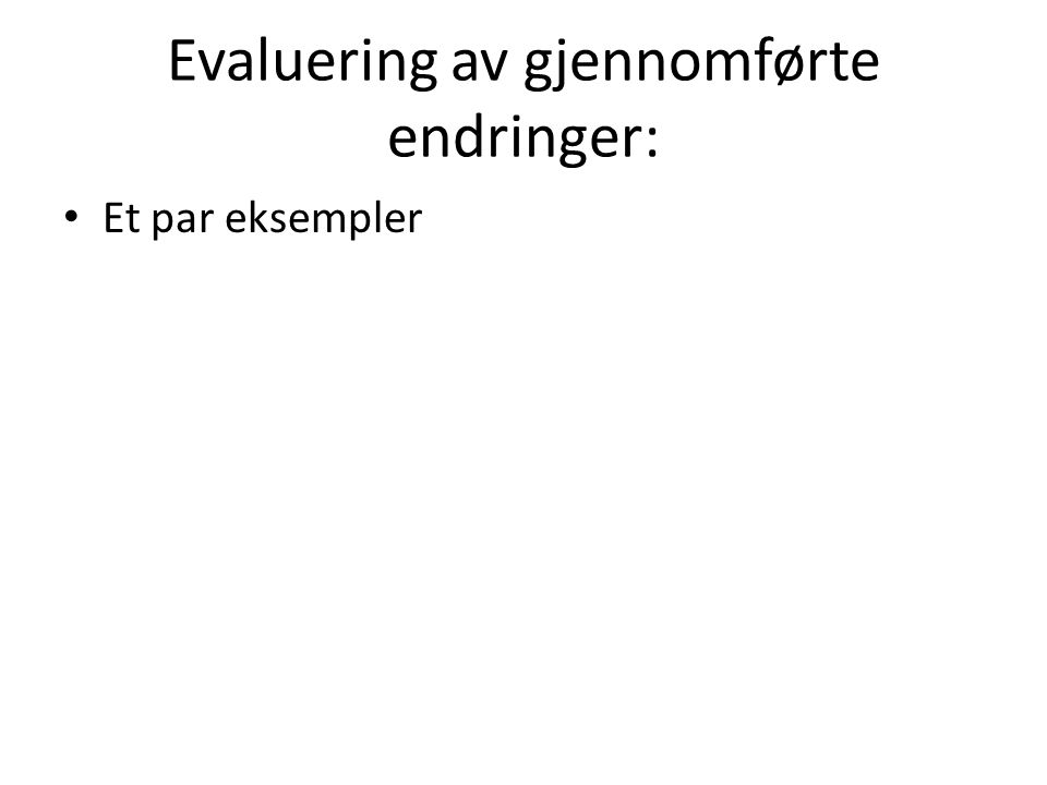 Nasjonal styring og kommunalt eierskap Hva forklarer at Osloelevene presterer bedre enn norske elever for øvrig.