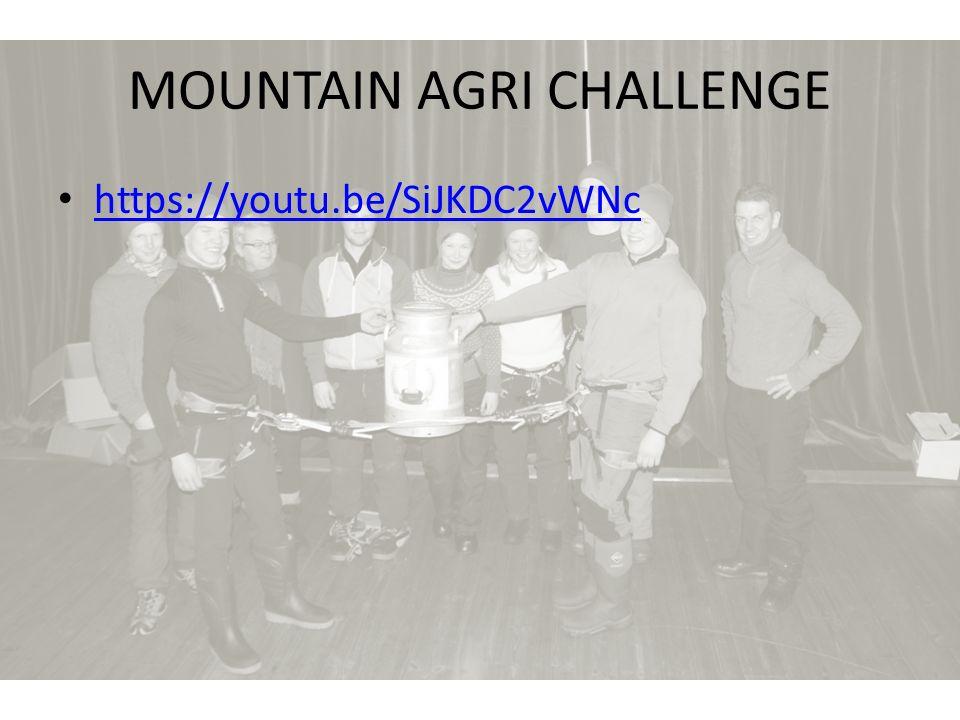 MOUNTAIN AGRI CHALLENGE https://youtu.be/SiJKDC2vWNc