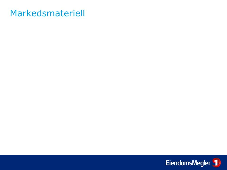 Markedsmateriell