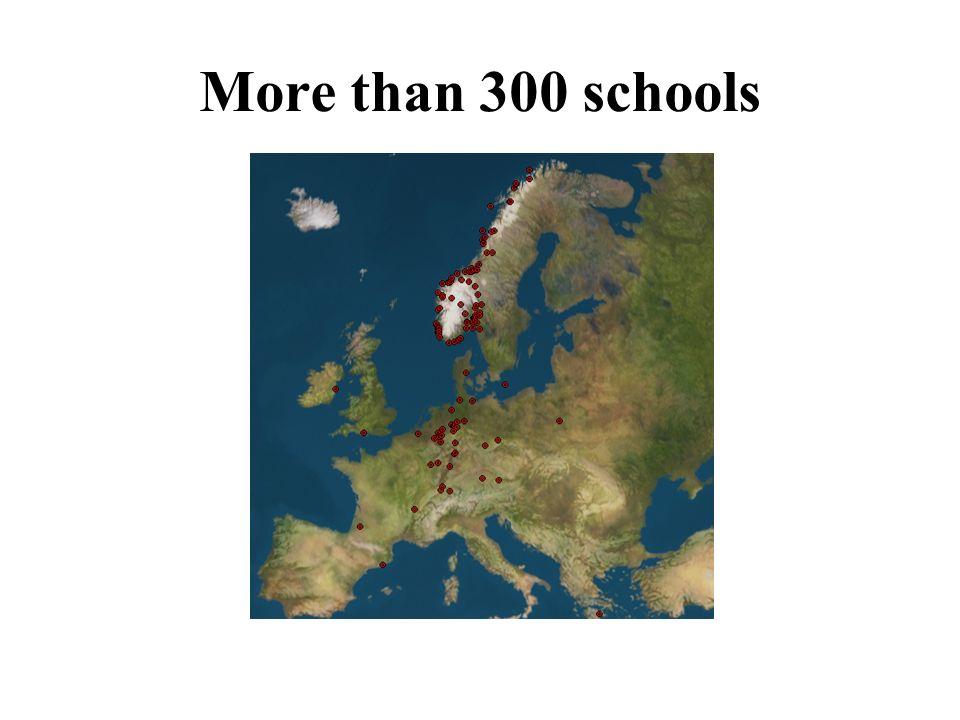 More than 300 schools