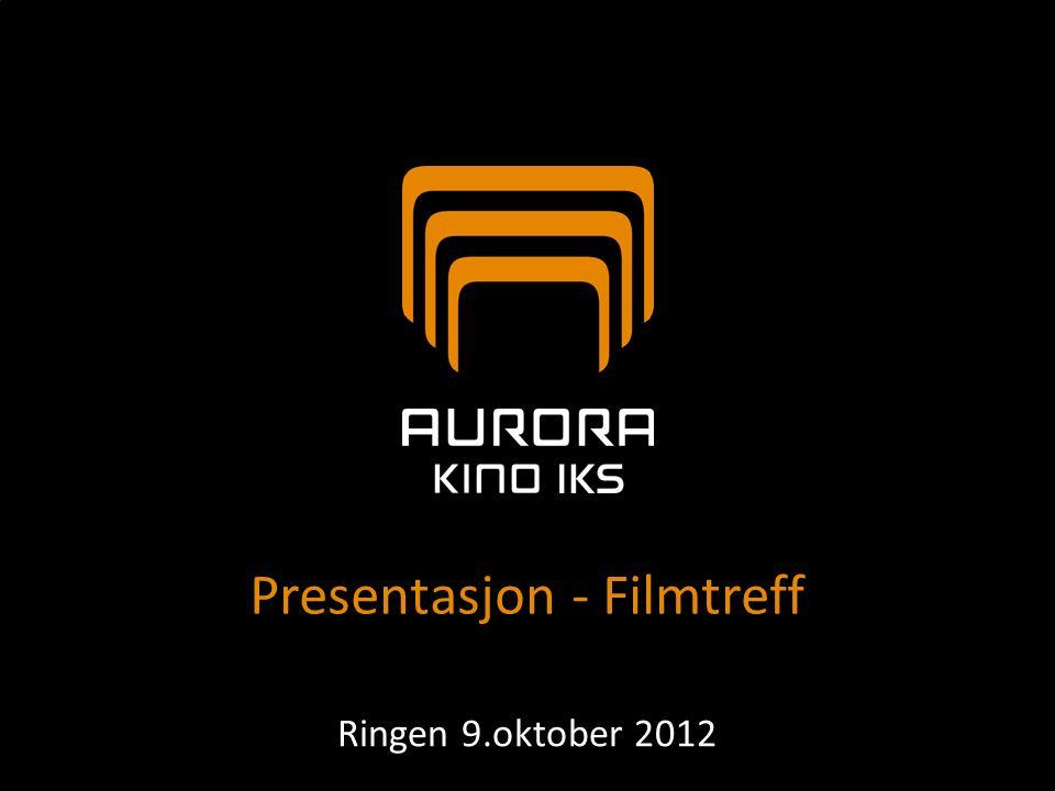 Aurora kino IKS  Interkommunalt selskap (IKS)  Fusjon av de kommunale foretakene Tromsø kino KF og Alta kino KF  Selskapet stiftet juni 2007  Overtok kinodriften i Tromsø og Alta 1.august 2007