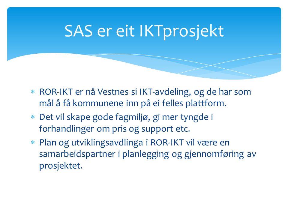  ROR-IKT er nå Vestnes si IKT-avdeling, og de har som mål å få kommunene inn på ei felles plattform.