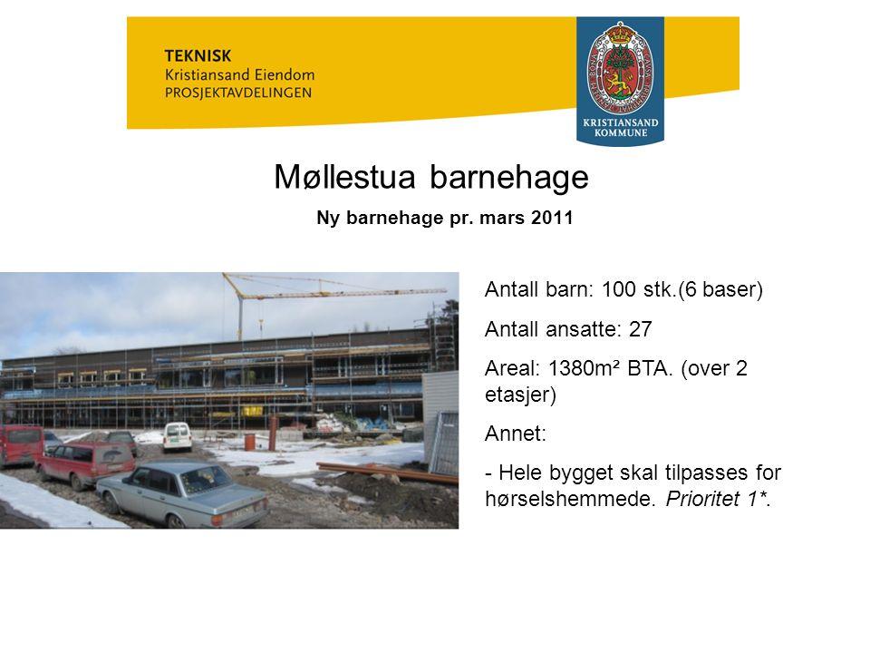 Møllestua barnehage Ny barnehage pr.