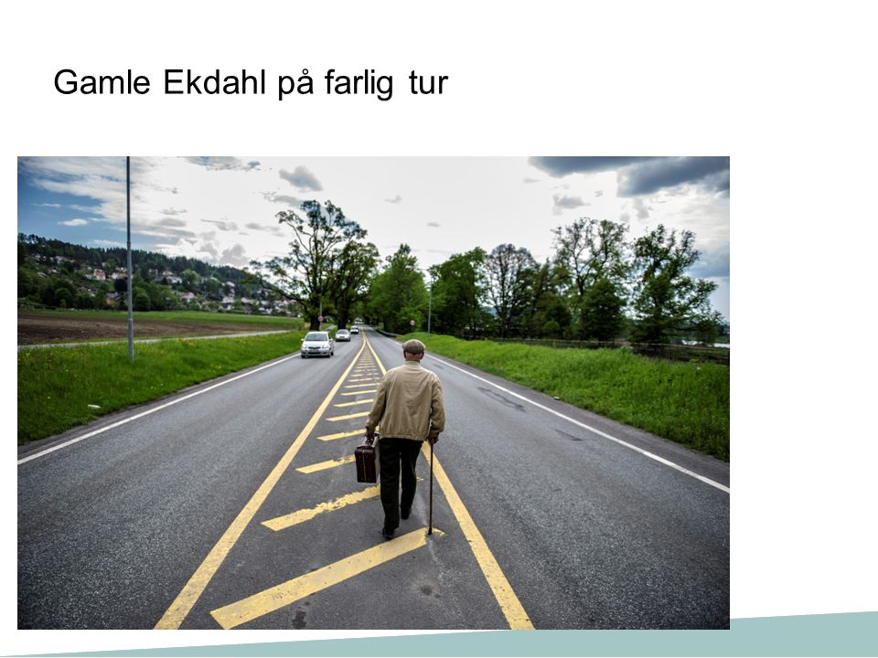 Gamle Ekdahl på farlig tur